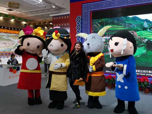 民族文化宫精彩不断  九色甘南独特魅力吸引外国观众纷纷前来