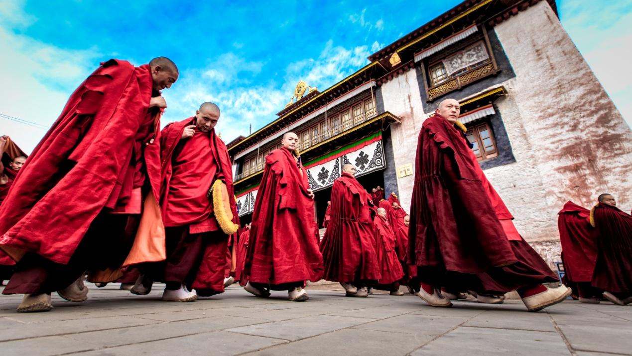 【昌都行记】藏东第一大格鲁派寺院——强巴林寺