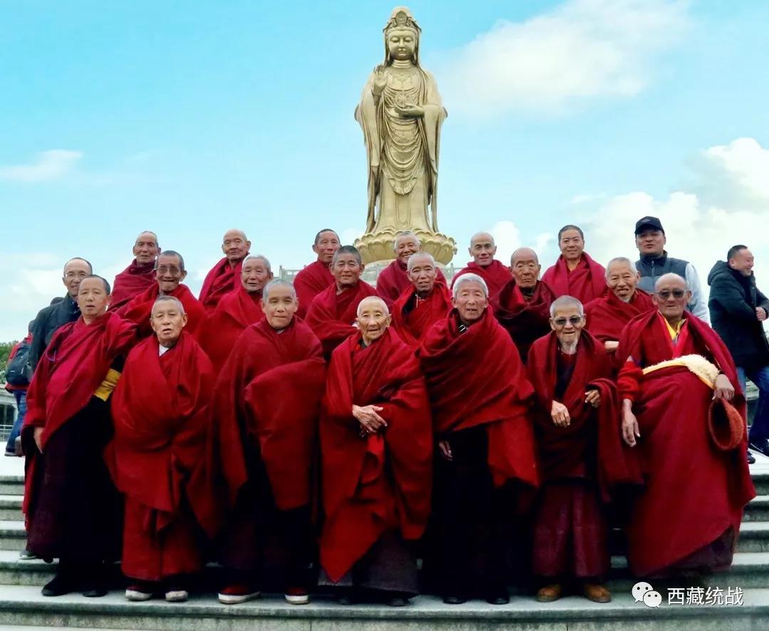 扎什伦布寺组织老僧赴上海、浙江、四川等地参观学习