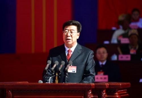 慶祝西藏民主改革60周年大會隆重舉行 吳英杰講話