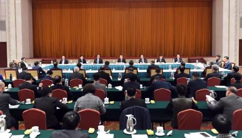 中华海外联谊会四届六次常务理事会在北京召开
