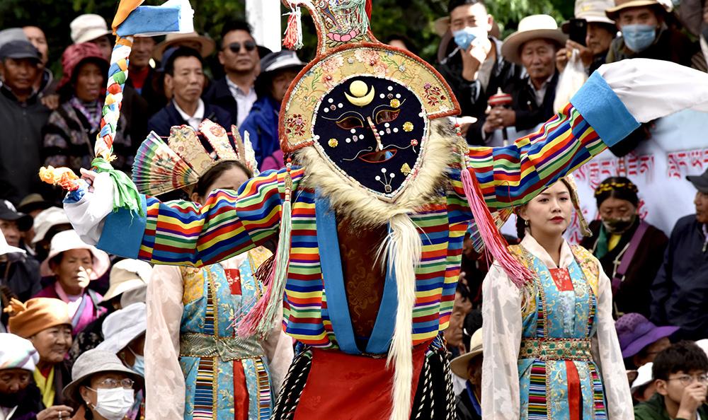"""西藏开启2019年""""藏戏演出季"""""""
