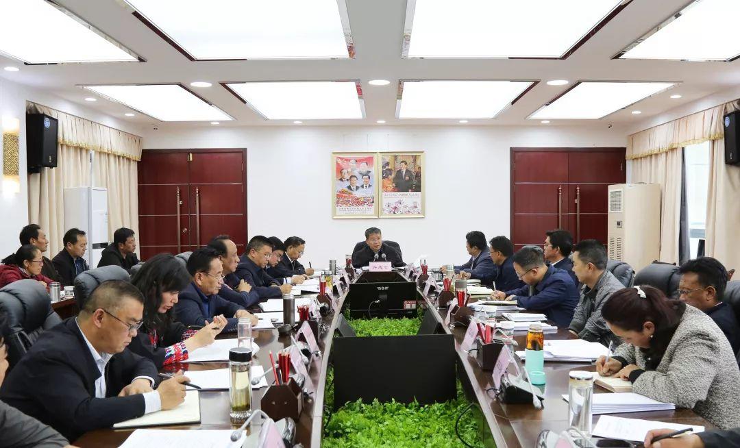 山南市委统一战线工作领导小组第一次会议召开