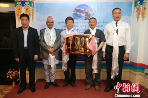 """""""中國西藏特色文化產業之窗""""落戶尼泊爾"""