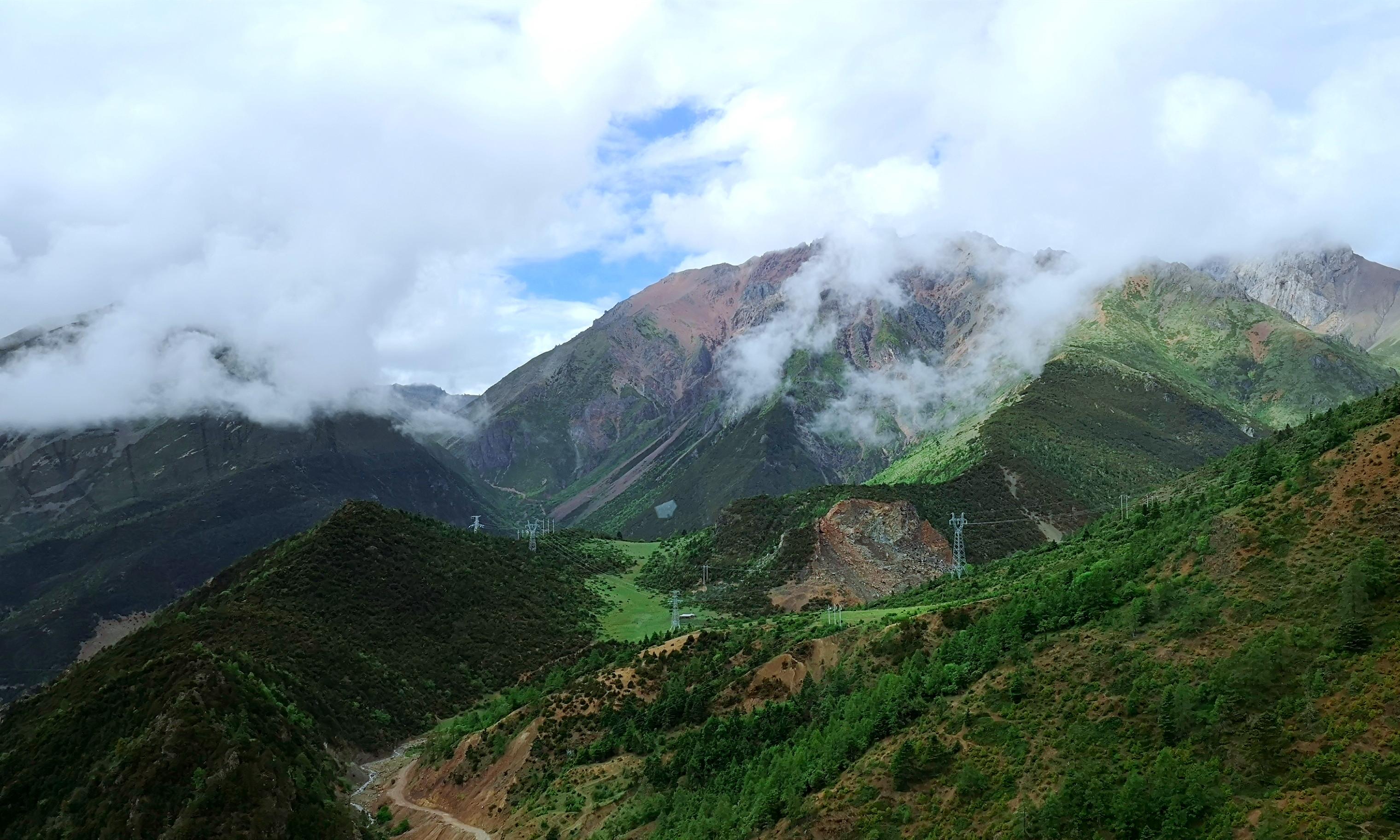 【行在迪庆】雾里看青山