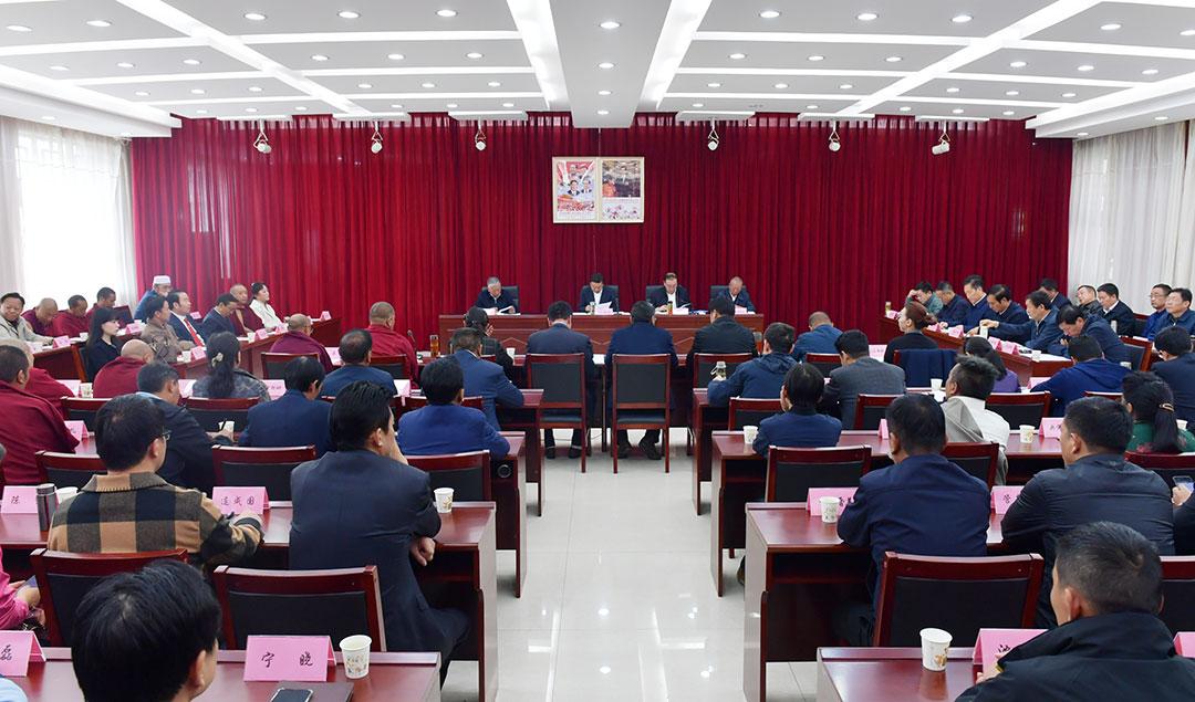 丁业现在全区各族各界代表座谈会上强调 凝聚共同思想汇聚强大力量 为建设社会主义现代化西藏注入不竭动力