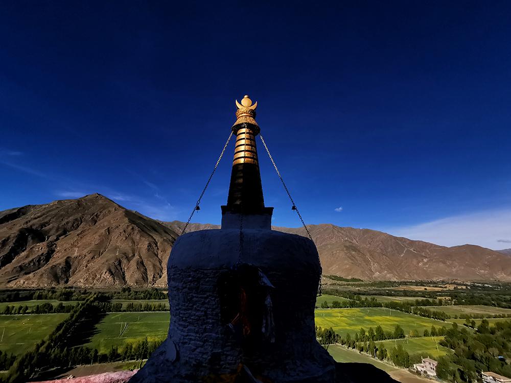 【和美新西藏】晨染雍布拉康