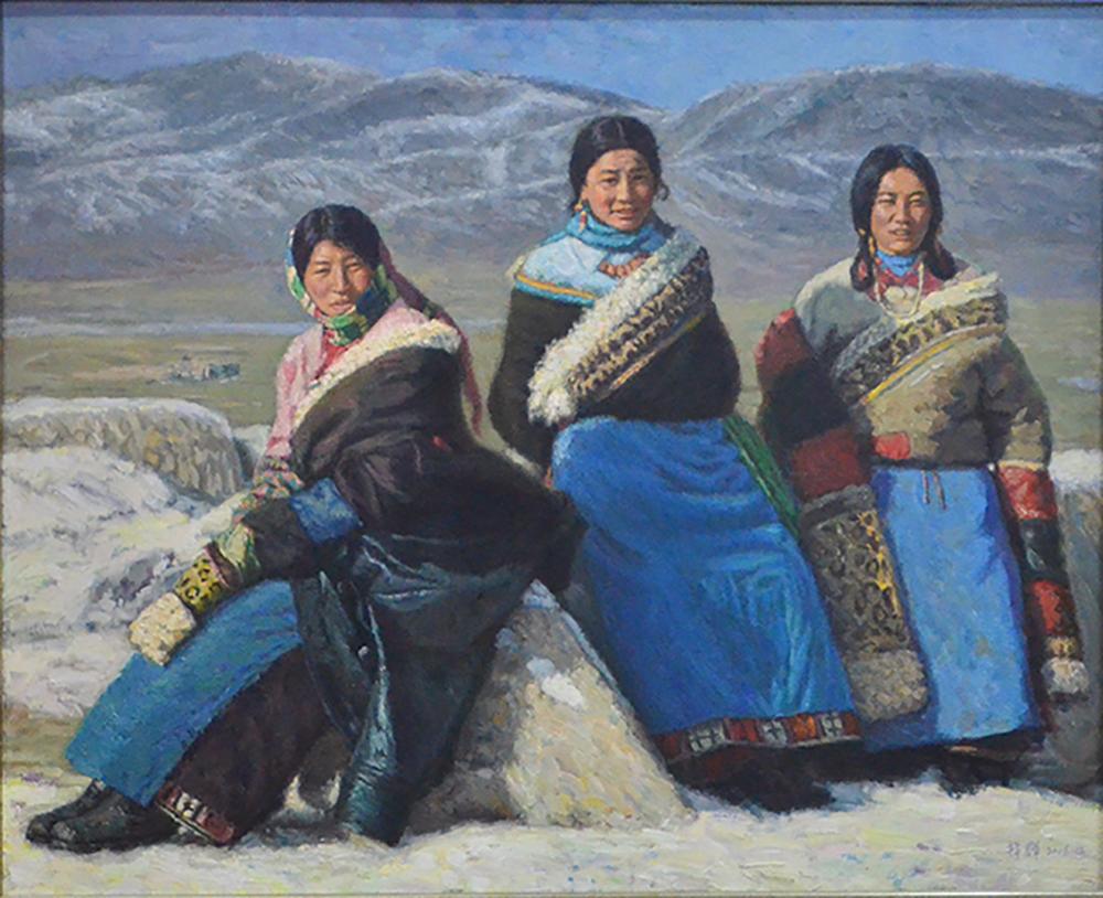 书画里的西藏印象