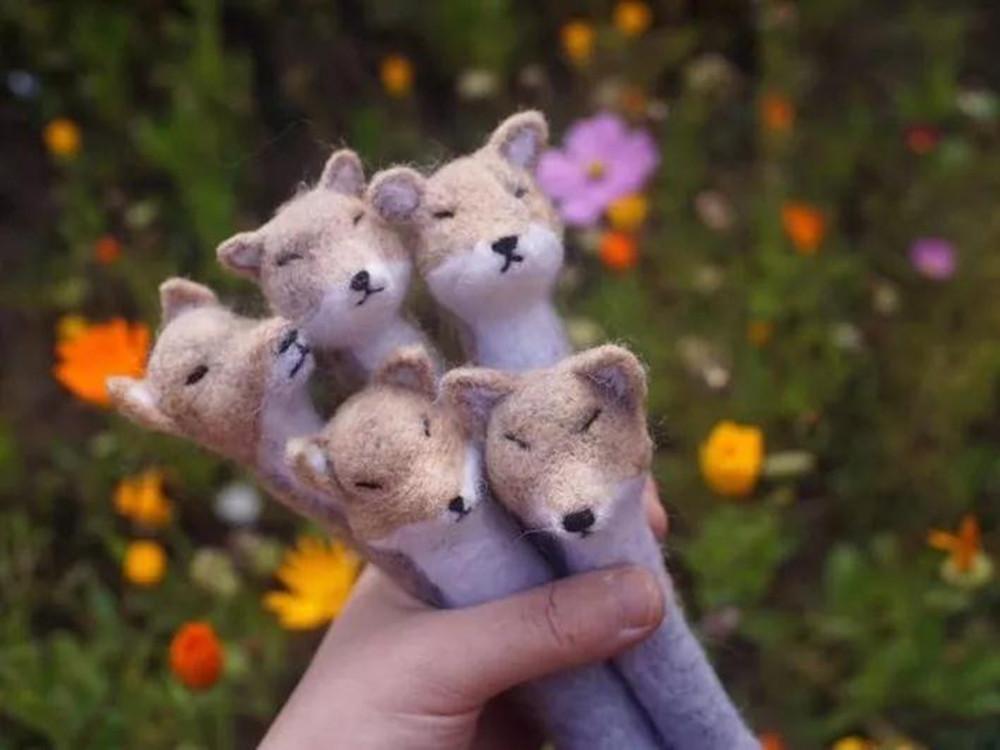 萌化了!当青藏高原的动物成为手工玩偶