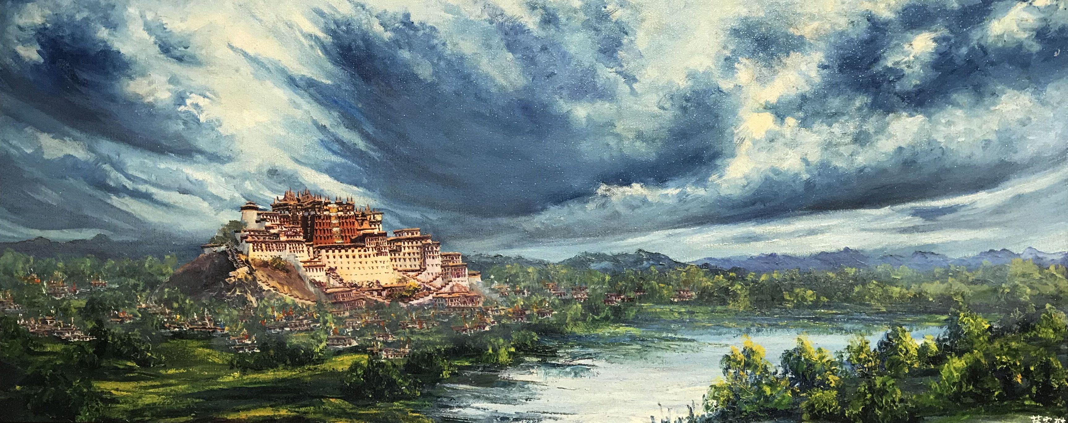 【用心听画】画家和他画笔里的布达拉宫