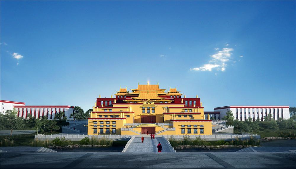 一睹为快:全面奋进建设中的四川省藏语佛学院
