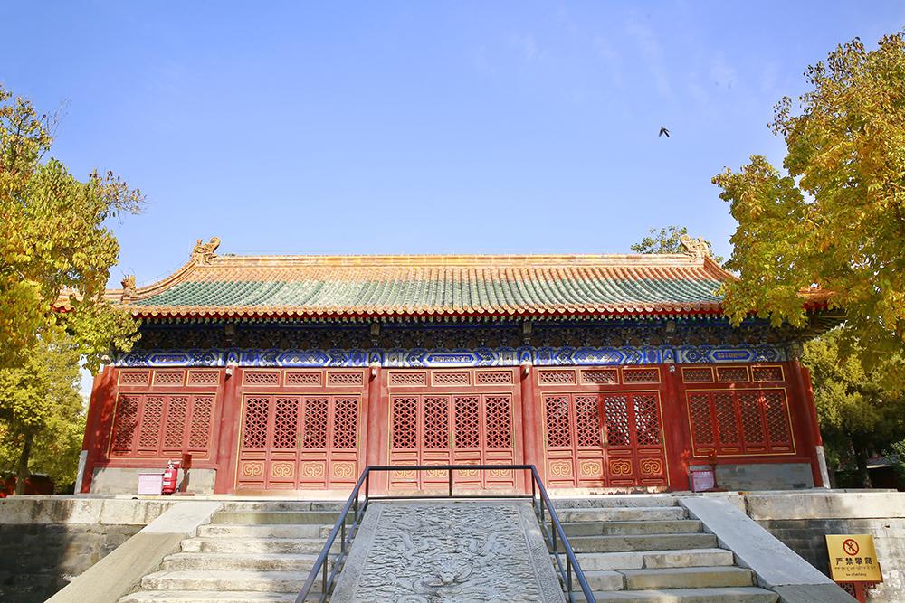 图集|西黄寺的深秋