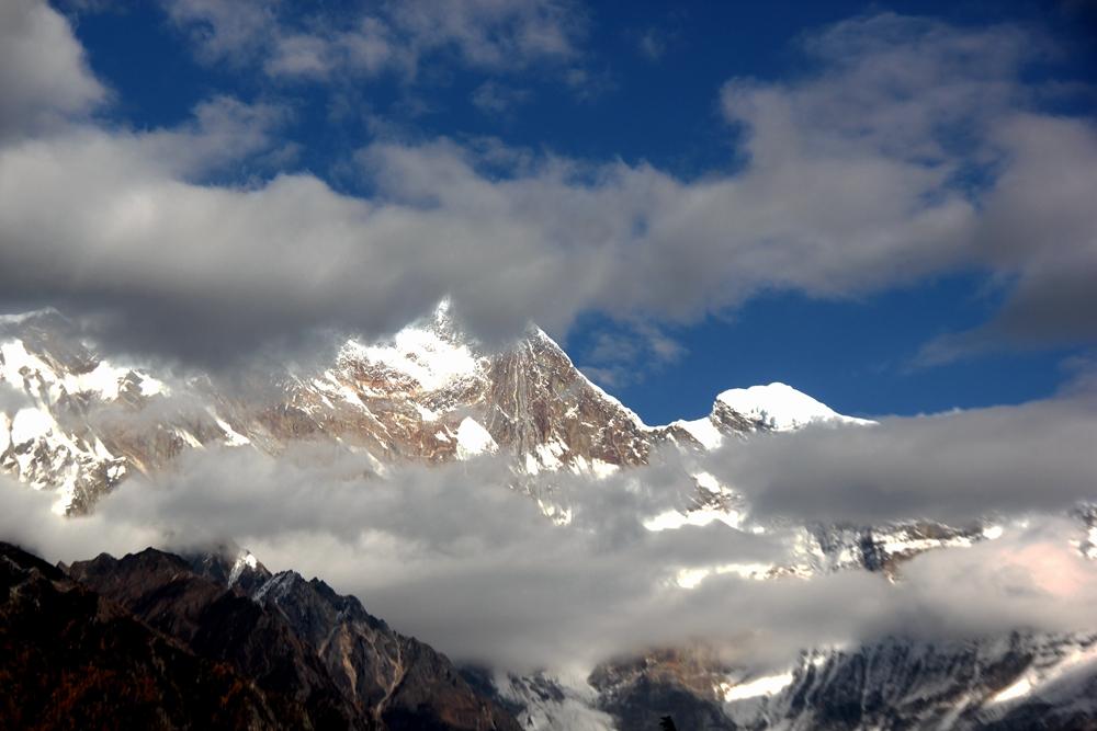 11月邂逅最美南迦巴瓦山峰