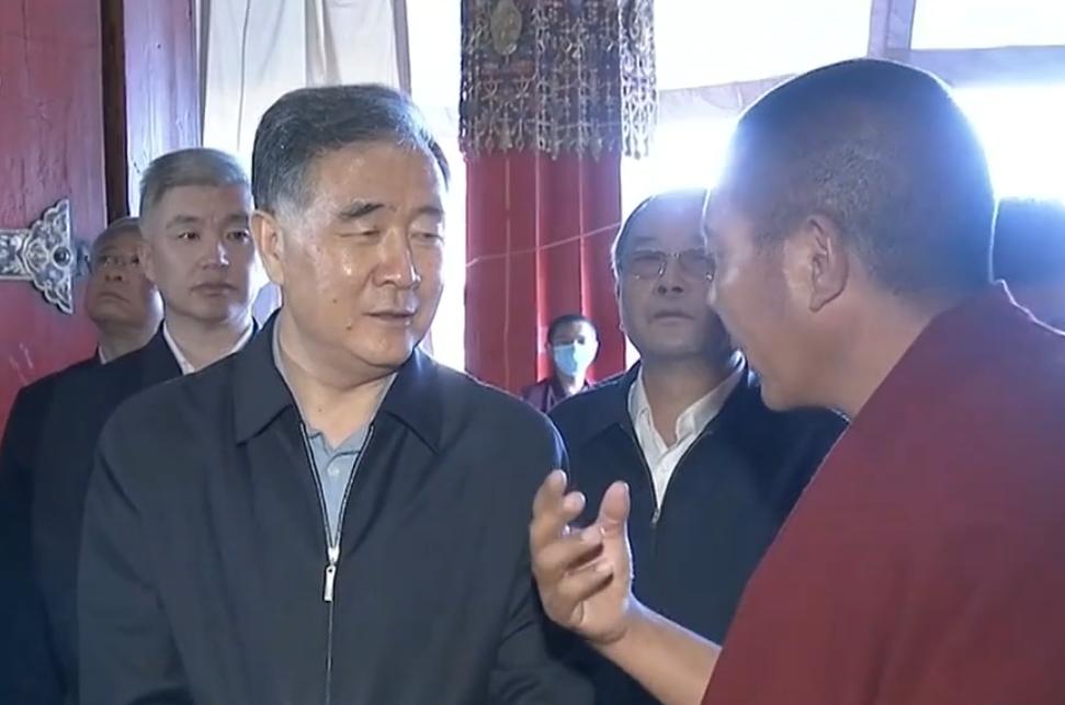 汪洋在西藏調研時強調 堅持和貫徹新時代黨的治藏方略 推進西藏長治久安和高質量發展