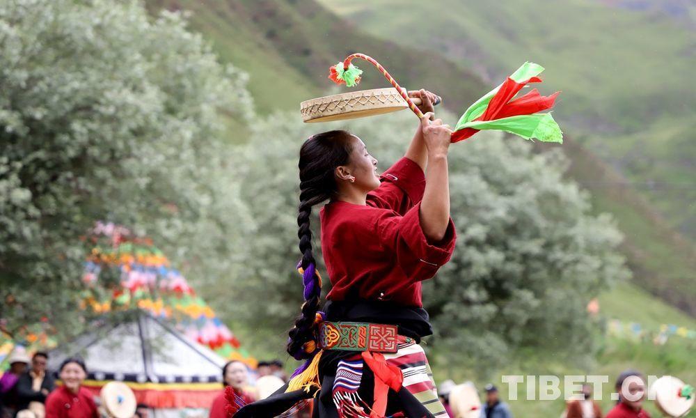 """非遺""""活""""起來:藏東草原上的熱巴舞"""