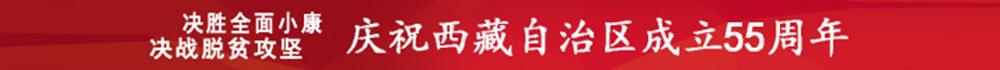 庆祝西藏自治区成立55周年