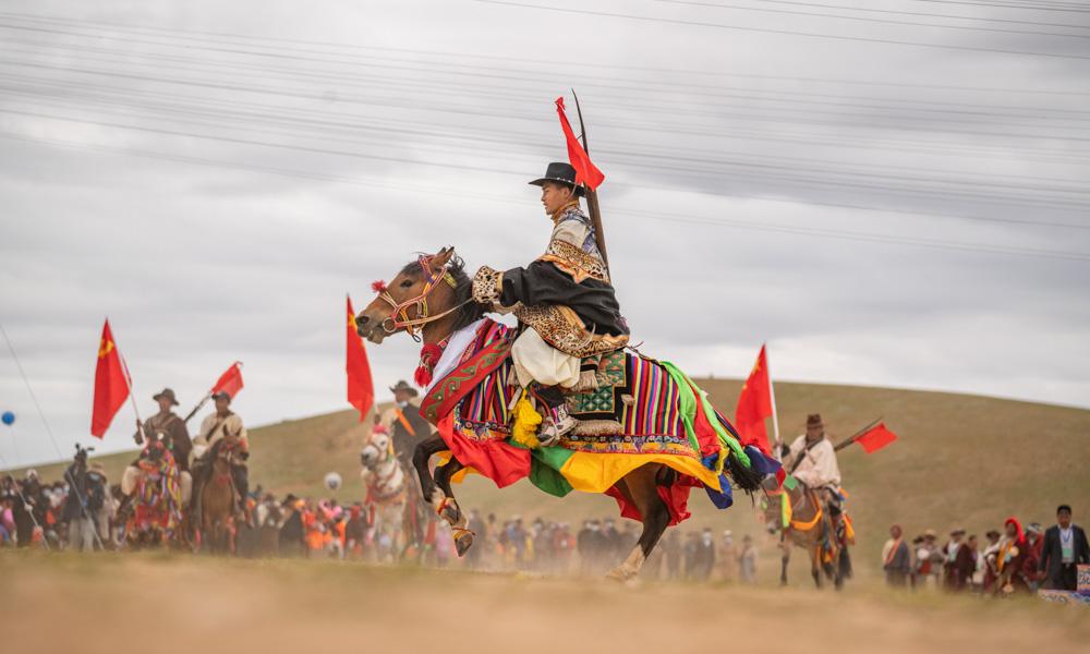 西藏班戈:牧草丰美迎盛会