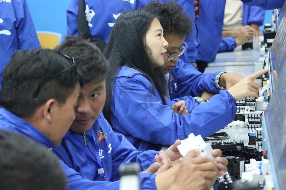 西藏自治区第四届职业技能大赛开幕