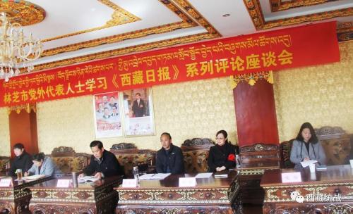 林芝市召开党外代表人士学习《西藏日报》系列评论座谈会