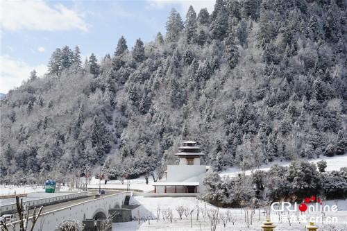 西藏魯朗國際旅游小鎮的冰雪童話世界