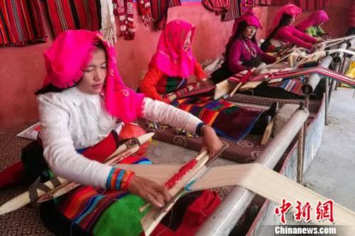 西藏阿里傳承民族特色促產業脫貧