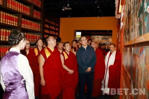 """十一世班禪談""""藏傳佛教發展進入'再弘期'"""""""