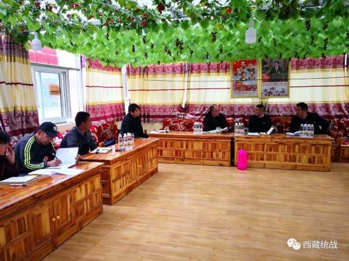 昌都市委组织部、统战部工作组一行赴江达县开展调研工作