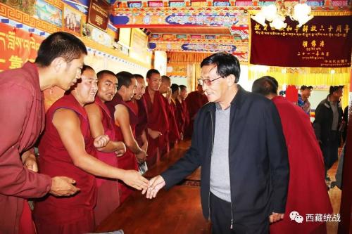 自治区政协党组成员、副主席,区总工会主席洛桑久美赴朗县开展调研