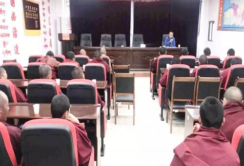 林周县强化培训措施 优化课程设计 扎实开展藏传佛教教职人员培训