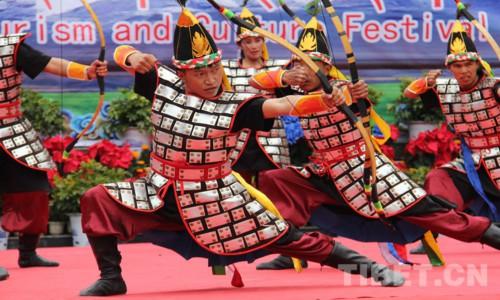 首届亚东国际边贸旅游文化节开幕