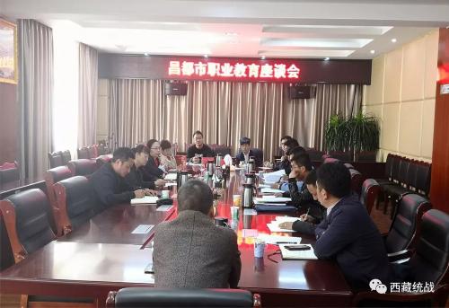 自治区职教调研组:广泛征求意见 共商职业发展