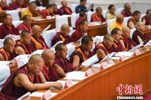 西藏各教派高僧代表齊聚拉薩召開佛協大會