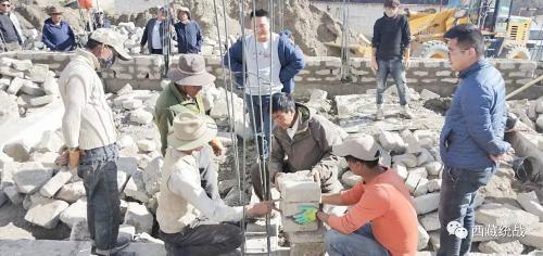 阿里地區普蘭縣涉宗領域組織開展重點項目檢查指導工作