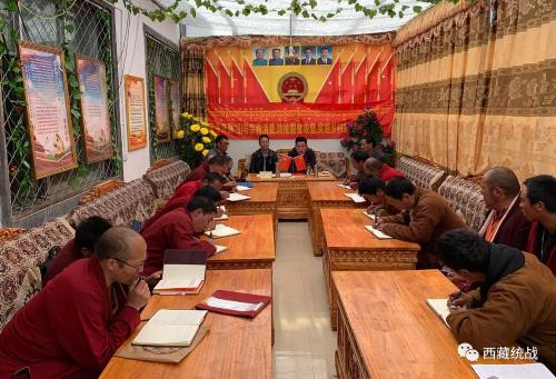 索县县委统战部、县宗教局赴寺管会督导检查近期各项工作