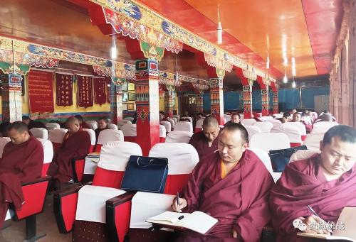 索县宗教领域开展揭批十四世达赖宣讲活动