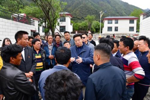吴英杰:用实际行动践行共产党员的初心和使命  让人民群众有更多获得感幸福感安全感