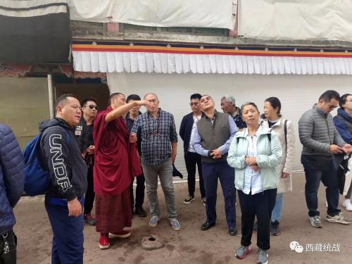 旅尼中青年藏胞在日喀则市参访活动圆满完成
