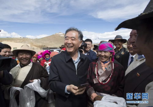 """汪洋西藏调研:聚焦""""两不愁三保障""""突出问题 高质量打赢西藏脱贫攻坚战"""
