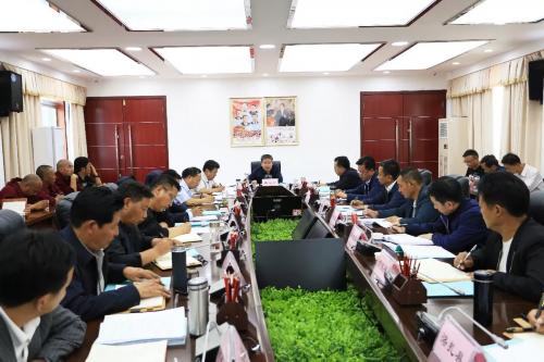 山南市召开全市寺庙管理工作座谈会