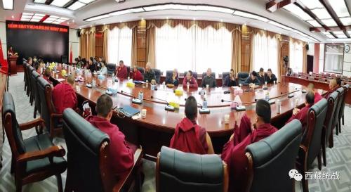 """亚东县宗教领域开展""""新旧西藏对比""""主题演讲比赛"""