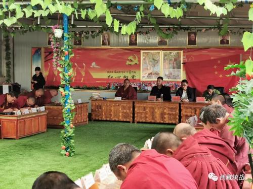 索县县委常委、统战部部长赤美贡旦深入宗教活动场所督导检查工作