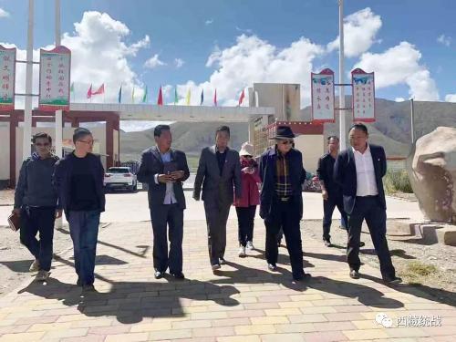 自治区民委调研组赴巴青县调研民族工作