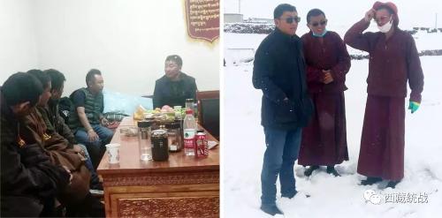 色尼区委常委、统战部部长达瓦顿珠深入各寺庙拉康日追督导检查工作