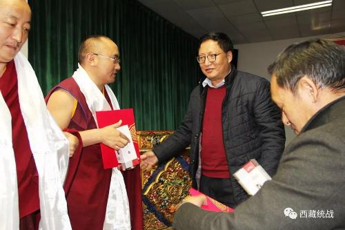 """西藏社會主義學院舉辦全區第八期、九期宗 教教職人員培訓班""""遵行四條標準 爭做先進僧尼""""演講大賽"""