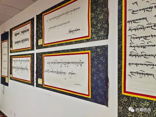 比如县设置书法作品展览室 打造文化宣传主阵地