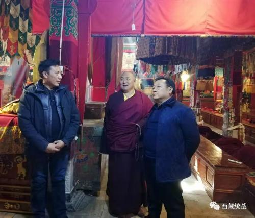 自治区宗教局局长拉巴次仁赴堆龙德庆区检查指导宗教工作