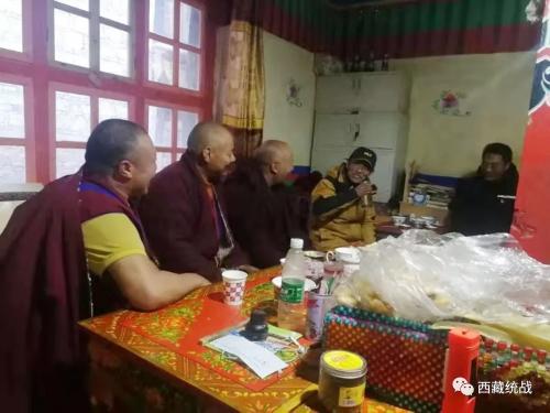 聂荣县委书记占堆深入宗教活动场所检查指导工作
