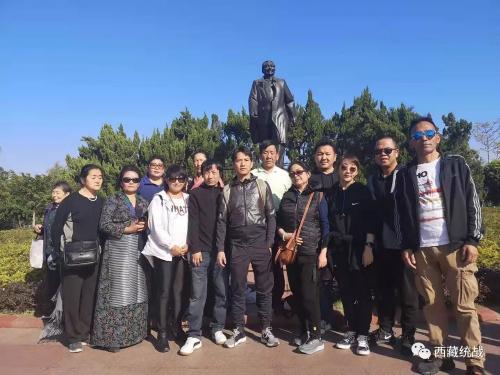 拉薩市第二期歸國定居藏胞境內親屬代表人士在深圳參觀學習