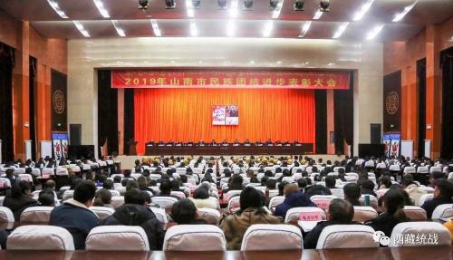 山南市召开2019年民族团结进步表彰大会