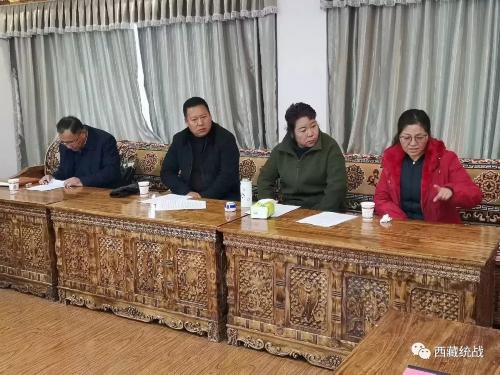 自治区经信厅、工商联相关领导赴桑日县考核非公经济工作